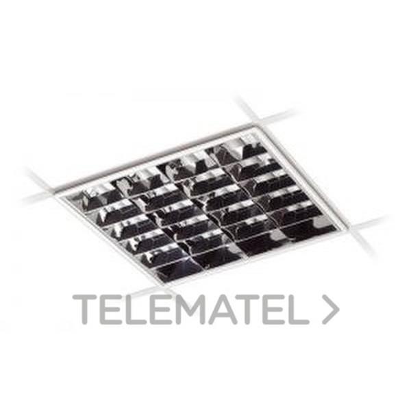 PANT EMP ALUM ESPEJEADO 4X18 HF en Gómez Moreno Material Eléctrico