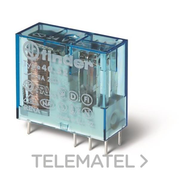 RELE MINI RETICULADO 5MM 2 CONMUTADO 8A en Gómez Moreno Material Eléctrico