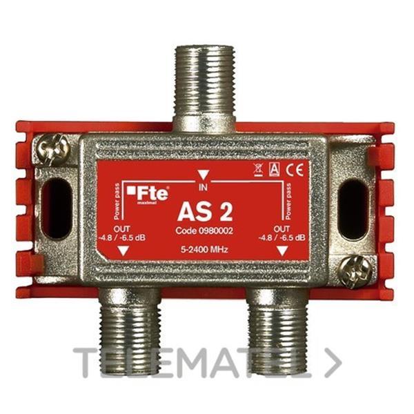 REPART.AS 2 INDUCT.C/CONECTOR F 2 OUT P. en Gómez Moreno Material Eléctrico